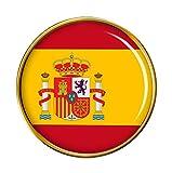 'Bandera Española' Redondo Pin de Solapa