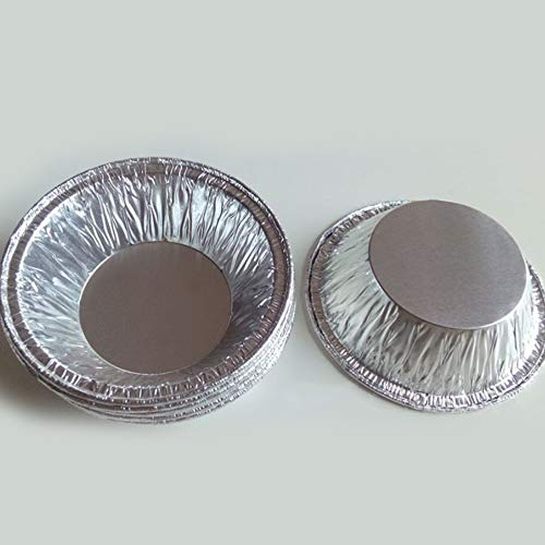 50pcs disposable kitchen baking round egg tart can Cake cup