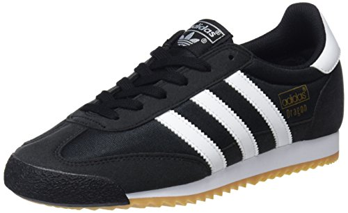 adidas Herren Dragon OG Sneaker, Schwarz (Core Black/FTWR White/Gum 3), 40 2/3 EU