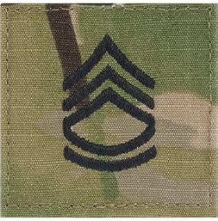 Multicam OCP Rank Insignia Fastener- Sergeant First Class SFC