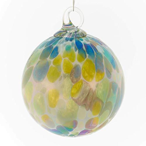 Glass Eye Studio Classic Ball Spring Showers Ornament