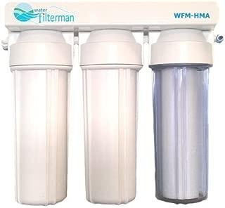Sistema de filtro de agua para reducción de metales pesados