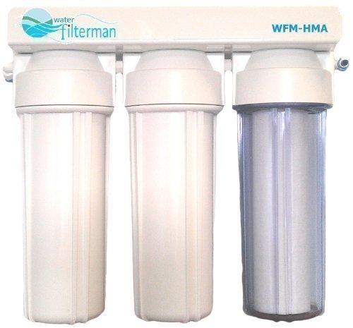 3 Stage Hma Heavy Metal Réduction du système de filtre à eau pour bassin de Koi et Dechlorinating