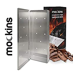 Mockins Stainless Steel BBQ Smoker Box