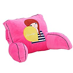 Barbie doll  back rest reading pillow with arms