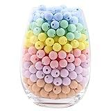 let's make Silikon Perlen Runde Süßigkeiten Farbe 12mm/50pcsTeether für Baby Diy Zubehör Säuglings Halskette Anhänger Kinder Kauen Zahnen Perlen