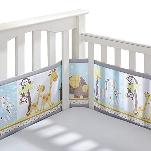 BreathableBaby Classic Breathable Mesh Crib Liner  Best Friends