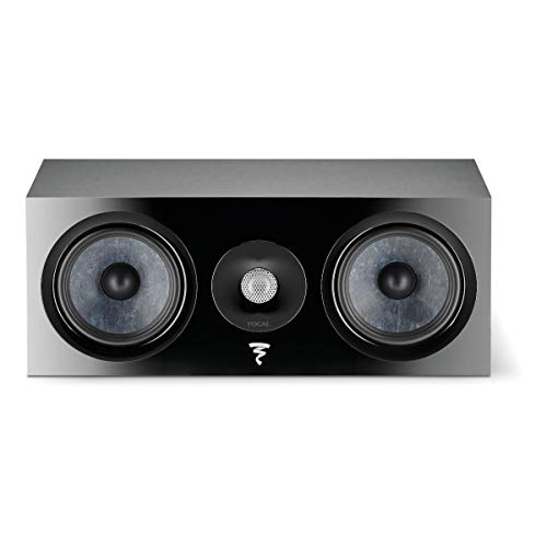 Best Bargain Focal Chora Center Channel Speaker (Black)