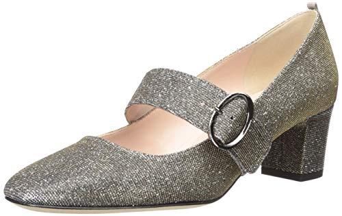 SJP by Sarah Jessica Parker Damen Tartt Round Toe Block Heel Mary Jane Halbschuhe, Gold (Toledo Brzfa), 39 EU
