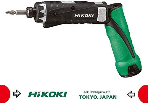 HITACHI HiKOKI Knickschrauber DB3DL2WCZ 3,6 Volt - inkl. 2x 1,5 Ah Akkus, Ladegerät, Schrauberklinge, Transportkoffer - kompakt und kraftvoll