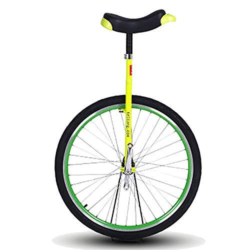 aedouqhr Monociclo Monociclo de Rueda Grande de 28 Pulgadas para Adultos de más de 200 Libras, Profesionales/niños Grandes/Personas súper Altas, Ciclismo de Equilibrio al Aire Libre, llanta de al