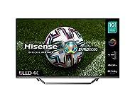 HISENSE 50U7QFTUK Quantum Series 50-inch 4K UHD HDR Smart TV with Freeview play, and Alexa Built-in ...