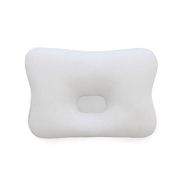 Baby Pillow for Newborn Breathable 3D Air Mesh 100% Natural Organic Bamboo Cotton, Protection for Flat Head Syndrome Bamboo Bunny