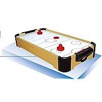 Devessport - Airhockey de sobremesa - Fácil de Guardar - Ideal para Jugar con Amigos - Medidas: 52 x 32 x 12 Cm