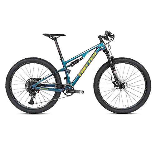 RYP Bici da Strada Mountain Bike Morbida Coda della Bicicletta Frame Mountain Bike MTB Adulti Strada Biciclette for Uomini e Donne Doppio Freno a Disco (Color : B, Size : 29 * 19in)