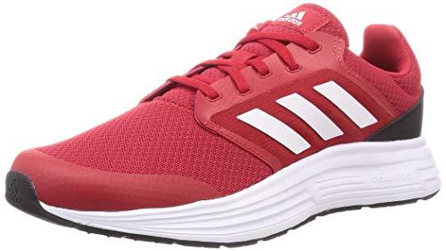 Adidas Men's Galaxy 5 Scarle/FTWWHT/CBLACK Running Shoe-12 Kids UK (FW5703)