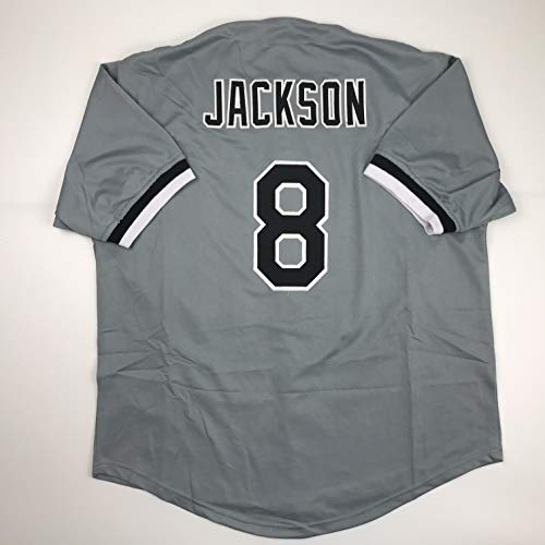Unsigned Bo Jackson Chicago Grey Custom Stitched Baseball Jersey Size Men's XL New No Brands/Logos