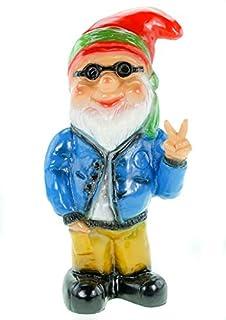 Hippie Victory garden gnomes plastic
