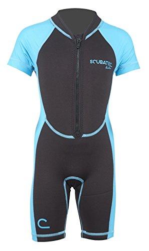 Scubatec Neopren-Lycra Kindershorty, blau, 140-146 (M)