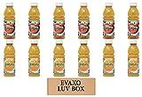 LUV BOX - Variety Tropicana Juice 10 oz Bottles,Pack of 12,Tropicana Apple Juice,Tropicana Orange Juice