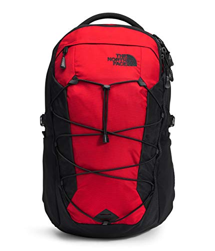 The North Face Borealis Laptop Backpack - Bookbag for Work, School, or Travel, TNF Red/TNF Black, One Size