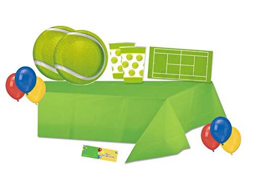 Creative Converting kit n 4 coordinato tavola tennis con palloncini multicolore