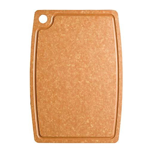 XY&YD Deska do krojenia, duża, drewniana deska kuchenna z Juice Groove, deska do krojenia zatwierdzona przez Fda do carvingboard blok rzeźniczy 45 x 30 cm