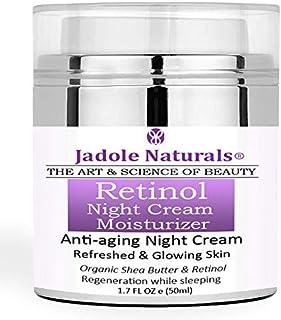 Beauty Retinol Moisturizer Night Cream for Face and Eye Area With Retinol, Hyaluronic Acid, vitamin e and Green Tea. Night...