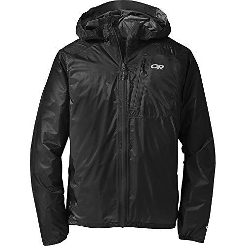 Outdoor Research Men's Helium Ii Jacket, Black/Storm, S