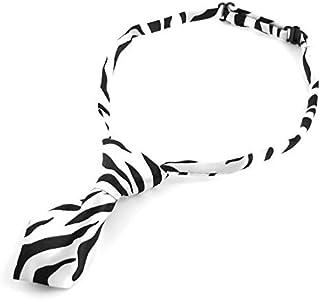 eDealMax Collar de perro Animal doméstico del gato de accesorios de la pajarita corbata, Negro