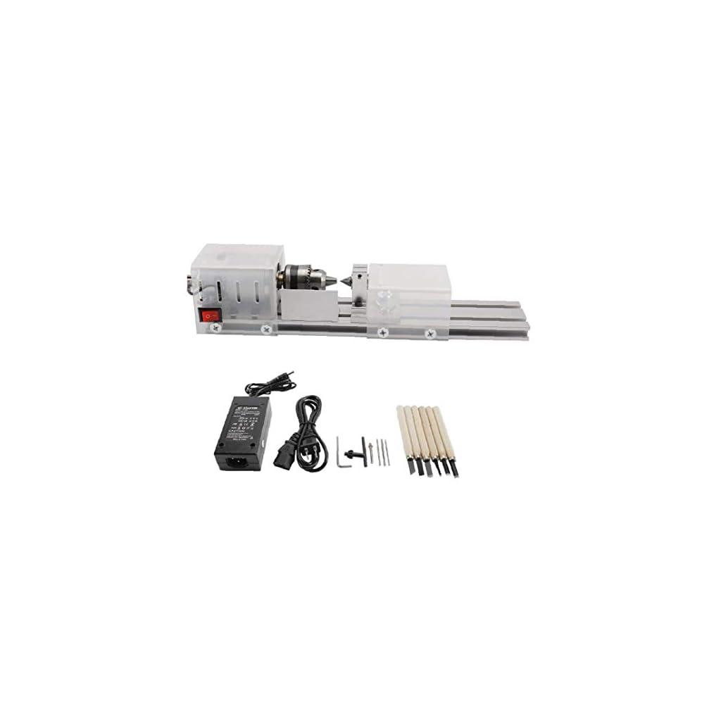 100-240 Mini Tour Perles Polisseuse machine bricolage Artisanat du bois outil rotatif EU Plug Power Tool Accessoires…