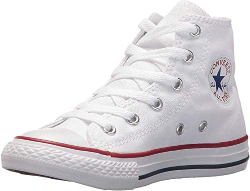 Converse Chuck Taylor All Star Hi 015860-21-3, Unisex - Kinder High-top Sneakers, Weiß (Optical Weiß), EU 24