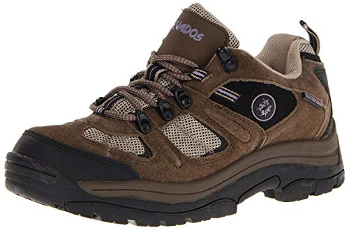Nevados Women's Klondike Waterproof Low V4161W Hiking Boot,Dark Brown/Black/Taupe,7.5 M US