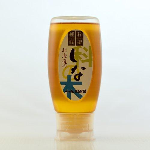 国産純粋蜂蜜 シナはちみつ500gチューブ容器入り 北海道産