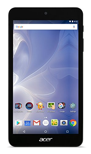 Acer Iconia One 7 B1-780 7-Inch IPS Touchscreen Tablet (Black) - (MediaTek Cortex A53 Quad-Core, 1 GB RAM, 16 GB eMMC Storage, Android 6.0)