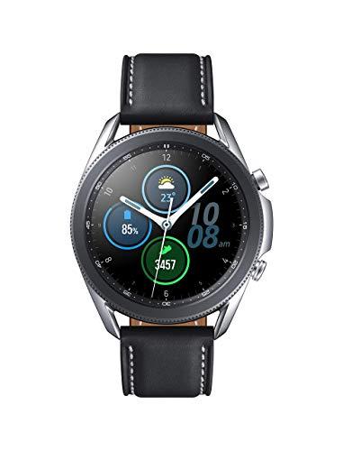 Samsung Watch 3 (GPS, Bluetooth, LTE) Smart Watch (Silver, 41MM, Renewed) (Renewed)