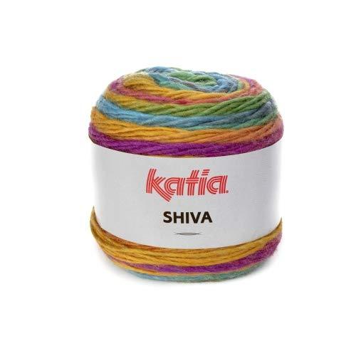 Katia Shiva - Farbe: Vivos/Turquesa (404) - 100 g/ca. 200 m Wolle