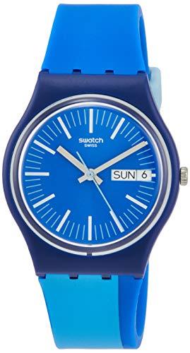 Swatch Orologio Quarzo analogico con Cinturino in plastica GZ708