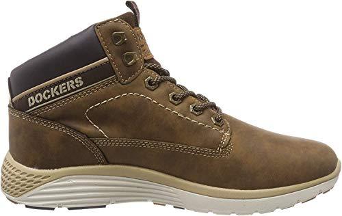 Dockers by Gerli Herren 43LR004 Hohe Sneaker, Braun (Cafe 320), 42 EU