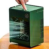 Aire Acondicionado portátil Ventilador USB humidificador de Aire Ventilador de Escritorio de 3 velocidades de Viento Adecuado para el hogar Oficina
