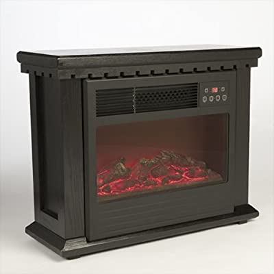 American Comfort 15603 32 Inch Electric Fireplace With LCD Display