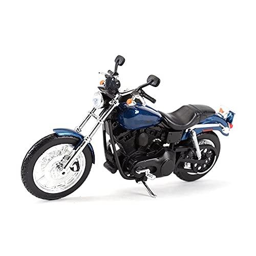 Modelo de juguete de motocicleta 1:12 para Sportster Iron 883 2014 para Dyna Street Glide Road para King CVO Breakout para Electra Glide Diecast aleación modelo de motocicleta de juguete Modelo de mot