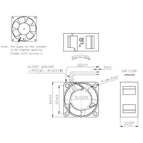 Sunon MF40202V2-1000U-A99