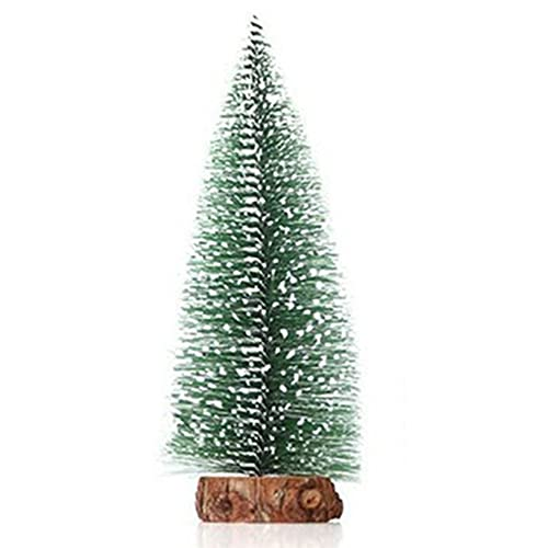 Mini árbol de Navidad decoración de escritorio árbol de Navidad adorno de mesa para el hogar 10-30 opcional regalo cálido para hombres y mujeres