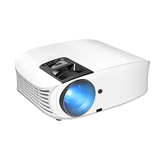 Support HD PROYECTOR MINI MICRO PROYECTOR HD 1080 Portátil Full HD 1080P Compatible con USB HD SD AV VGA para el cine en casa With projection function ( Color : White , Size : 310.7*239.3*117.6mm )