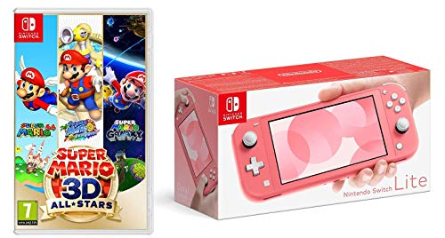 Nintendo Switch Lite - Coral + Super Mario 3D All-Stars (Nintendo Switch)