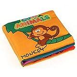 Bébé éducation Livre - Grands Jouets pour Enfants Cadeaux bébé Dessin animé Mot Livre Intelligence développement éducation Jouets CP1355-4 - Animal coloré