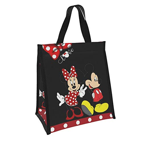 Suguroo Insulated Mickey Mouse Partner Lunch Bag Cooler Tote Bag for Adult Teen Men Women Lunch Boxes Lunch boxes Meal Prep Handbag