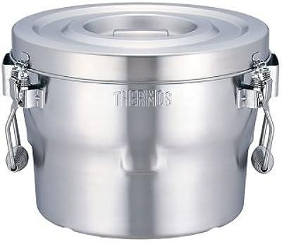 THERMOS(サーモス) 高性能保温食缶(シャトルドラム) GBBー10C 本体:ステンレス鋼 フタ取っ手:フェノール 日本 ASYE701