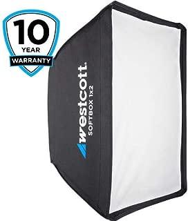Westcott 1x2' Softbox with White Interior